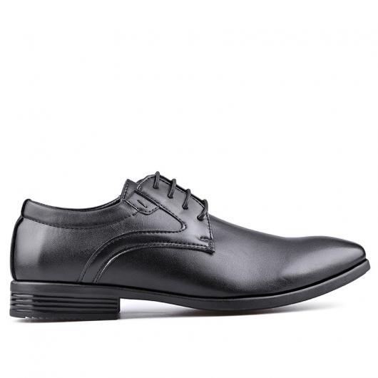 Черни мъжки елегантни обувки Rigoberto