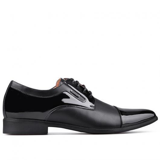 Черни мъжки елегантни обувки Amarillo
