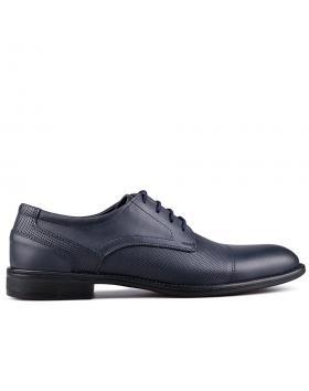 мъжки елегантни обувки сини 0129004 в online магазин Fashionzona