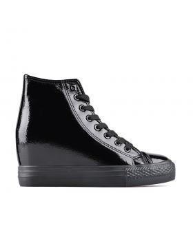 дамски кецове черни 0128157 в online магазин Fashionzona