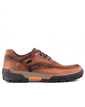 мъжки ежедневни обувки светлокафяви 0128789 в online магазин Fashionzona