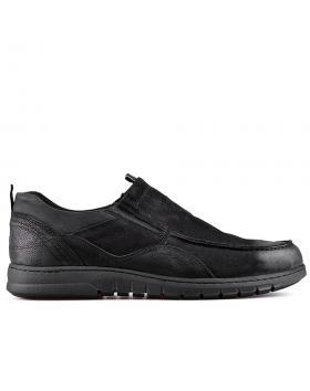 Черни мъжки ежедневни обувки 0128782 в online магазин Fashionzona