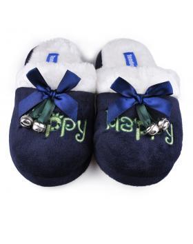 дамски пантофи сини 0128576 в online магазин Fashionzona