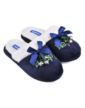 Сини дамски пантофи Noweleen в online магазин Fashionzona