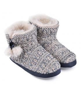 дамски пантофи бежови 0128569 в online магазин Fashionzona