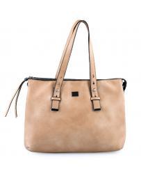 Бежова дамска ежедневна чанта Anusha в online магазин Fashionzona