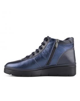 Сини дамски ежедневни боти Campbell в online магазин Fashionzona