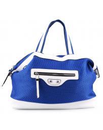 Синя дамска ежедневна чанта Elvira в online магазин Fashionzona