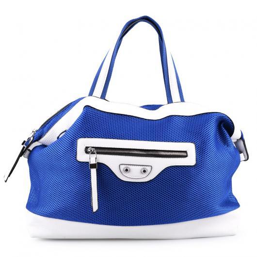 Синя дамска ежедневна чанта Elvira