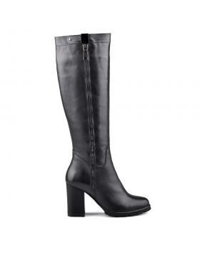 дамски ежедневни ботуши черни 0128868 в online магазин Fashionzona