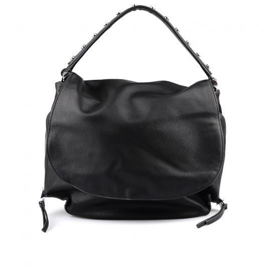Черна дамска ежедневна чанта Agnes