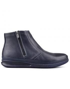 Сини мъжки ежедневни боти с топъл хастар 0130104 в online магазин Fashionzona