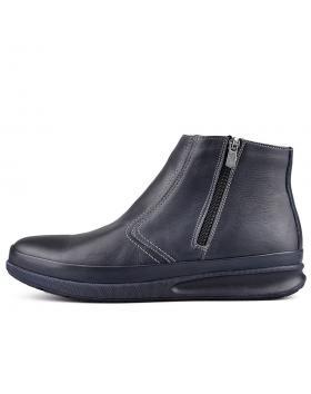 Сини мъжки ежедневни боти с топъл хастар Aluxio в online магазин Fashionzona