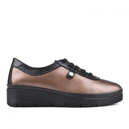 Бежови дамски ежедневни обувки 0130178