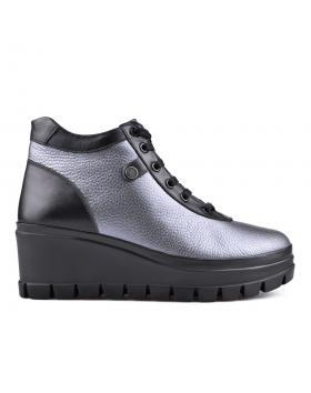 дамски ежедневни боти сиви 0130176 в online магазин Fashionzona