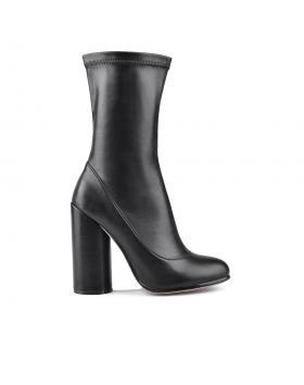 дамски елегантни боти черни 0128722 в online магазин Fashionzona