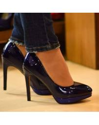 дамски елегантни обувки сини 0128734