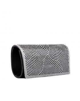 Черна дамска елегантна чанта Cristine в online магазин Fashionzona
