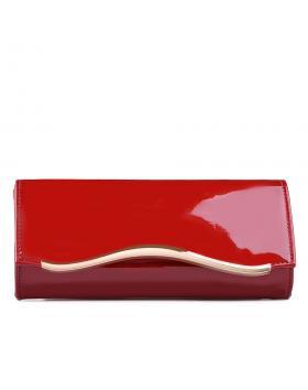 Червена дамска елегантна чанта 0129239 в online магазин Fashionzona