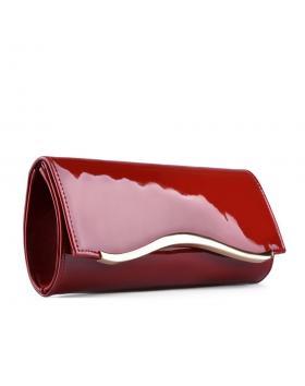 Червена дамска елегантна чанта Ira в online магазин Fashionzona