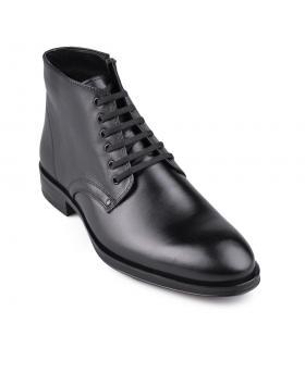 Черни мъжки елегантни боти с топъл хастар Teyo в online магазин Fashionzona