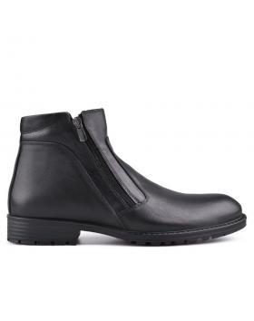 Черни мъжки ежедневни боти с топъл хастар Giacintho в online магазин Fashionzona