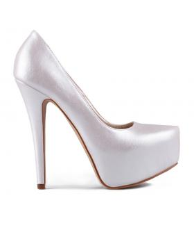 Бели дамски елегантни обувки Gioia в online магазин Fashionzona