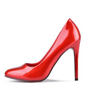 Червени дамски елегантни обувки Jaimica в online магазин Fashionzona