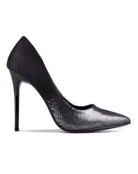 Черни дамски елегантни обувки 0129586 в online магазин Fashionzona