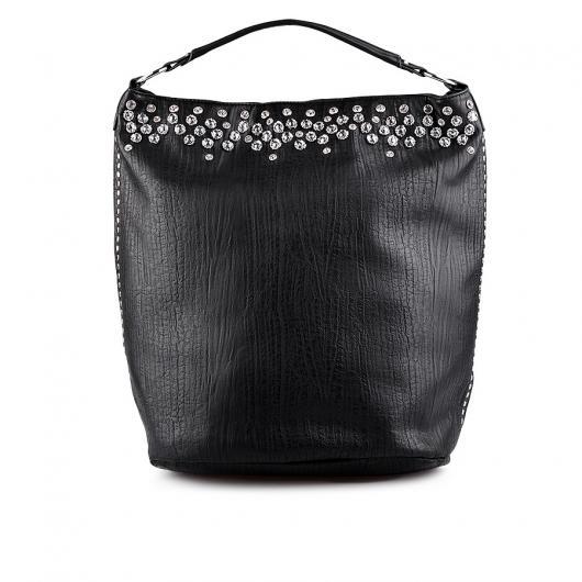 Черна дамска ежедневна чанта Nadyna