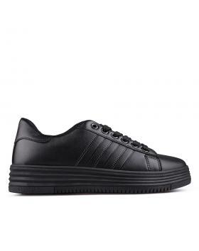дамски кецове черни 0129942 в online магазин Fashionzona