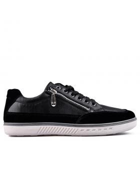 Черни мъжки кецове 0129121 в online магазин Fashionzona
