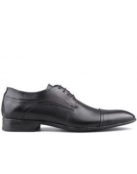 мъжки елегантни обувки черни 0125678 в online магазин Fashionzona