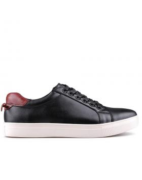 мъжки кецове черни 0129345 в online магазин Fashionzona