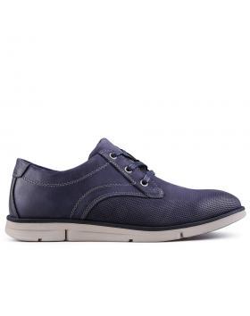 мъжки ежедневни обувки сини 0129336 в online магазин Fashionzona