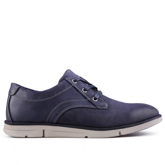 Сини мъжки ежедневни обувки Roque
