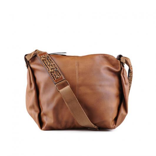 Кафява дамска ежедневна чанта Villett