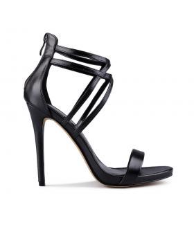 Дамски елегантни сандали черни 0129381 в online магазин Fashionzona