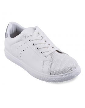 Бели мъжки кецове Elian в online магазин Fashionzona