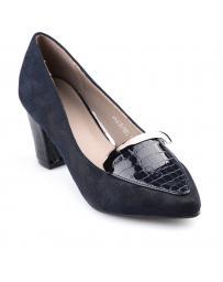 Тъмносини дамски ежедневни обувки Domina в online магазин Fashionzona
