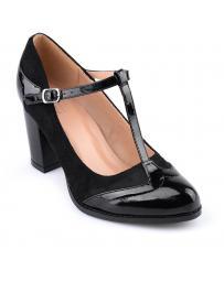Черни дамски ежедневни обувки Jacenda в online магазин Fashionzona
