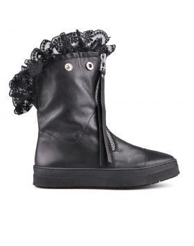 Черни дамски кецове 0130588 в online магазин Fashionzona