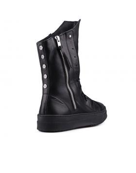 Черни дамски кецове 0130585 в online магазин Fashionzona
