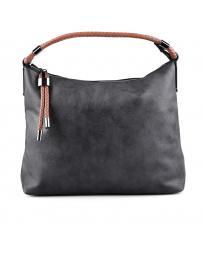 Черна дамска ежедневна чанта 0129402