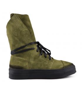 Зелени дамски кецове 0130592 в online магазин Fashionzona