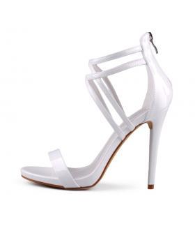 Бели дамски елегантни сандали Lexie в online магазин Fashionzona