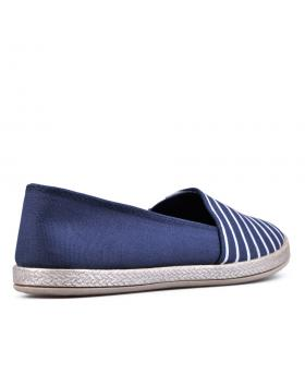 Сини дамски ежедневни обувки Vajra в online магазин Fashionzona