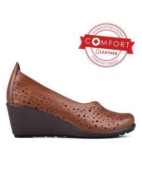 Кафяви дамски ежедневни обувки Arlene в online магазин Fashionzona
