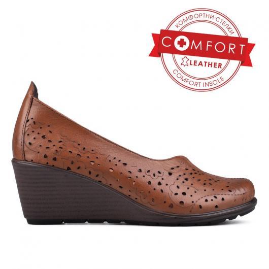 Кафяви дамски ежедневни обувки Arlene