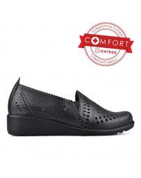 Черни дамски ежедневни обувки 0131057